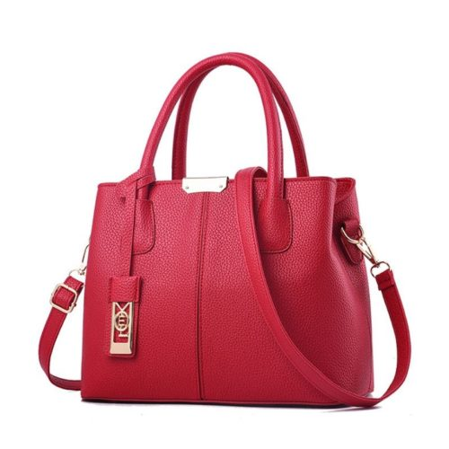 JTF16191-red Tas Selempang Wanita Cantik Elegan Import