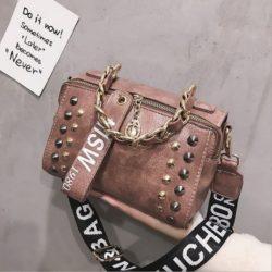 JTF16435-pink Tas Selempang Fashion Modis Elegan Wanita