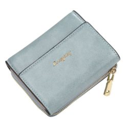 JTF1668-blue Dompet Lipat Wanita Baellerry Cantik Import