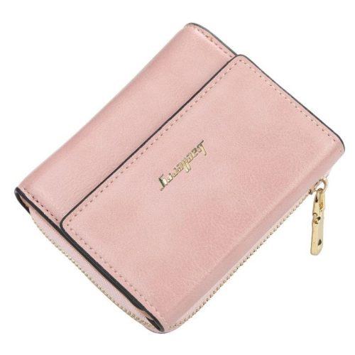 JTF1668-pink Dompet Lipat Wanita Baellerry Cantik Import