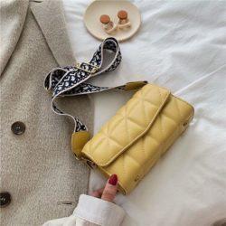 JTF167-yellow Tas Selempang Import Elegan Wanita Cantik