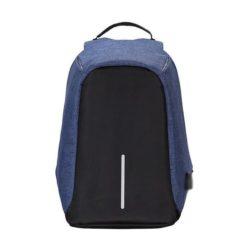 JTF1701-blue Tas Ransel Pria Anti Maling Colokan USB