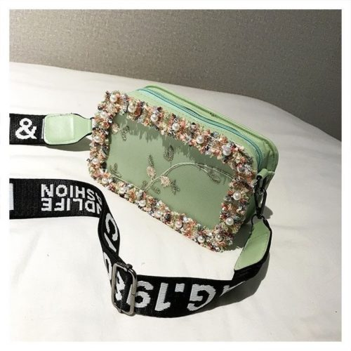 JTF18174-green Slingbag Fashion Stylish Import Terbaru
