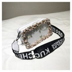 JTF18174-white Slingbag Fashion Stylish Import Terbaru