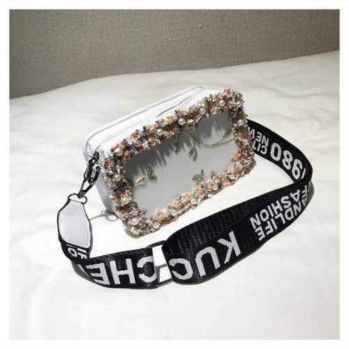 JTF18174-white Slingbag Fashion Stylish Import Terbaru