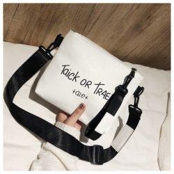 JTF18225-white Tas Selempang Cantik Modis Import Terbaru