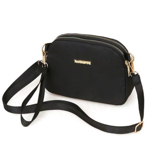 JTF18805-black Tas Selempang Import Wanita Cantik Modis