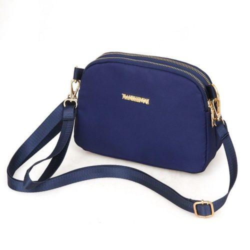 JTF18805-blue Tas Selempang Import Wanita Cantik Modis