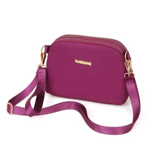 JTF18805-purple Tas Selempang Import Wanita Cantik Modis