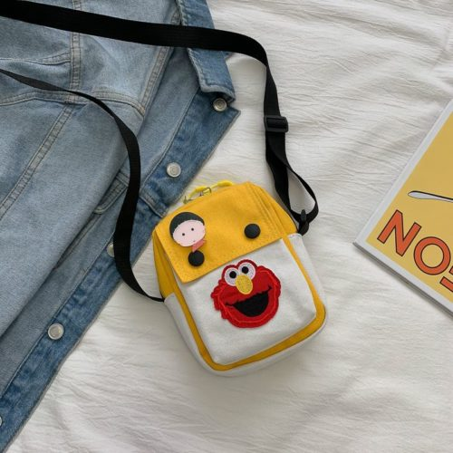 JTF1913-yellow Tas Selempang Dompet Handphone Wanita Import