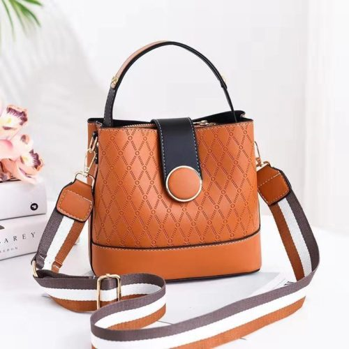 JTF19381-brown Tas Selempang Fashion Wanita Cantik Terbaru