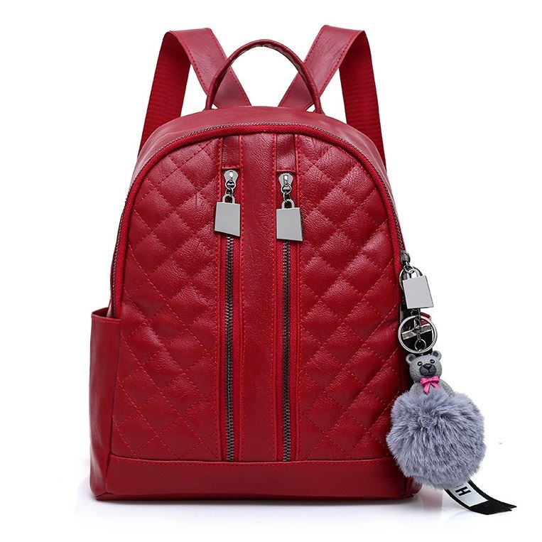 JTF197 IDR.70.000 MATERIAL PU SIZE L26XH28XW12CM WEIGHT 600GR COLOR RED