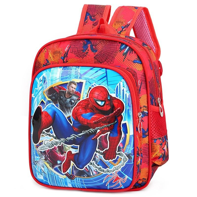 JTF201902 IDR.45.000 MATERIAL NYLON SIZE L27XH32XW10CM WEIGHT 400GR COLOR SPIDERMAN