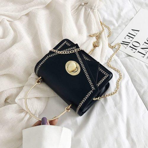 JTF206-black Tas Clutch Import Wanita Elegan Terbaru