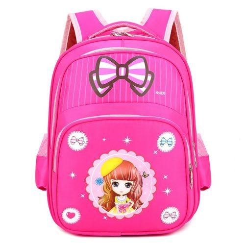 JTF210934-pinkdoll Tas Ransel Anak Sekolah Karakter Import