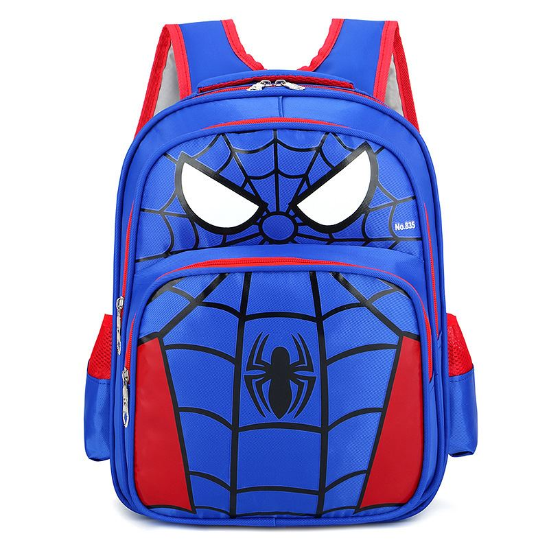 JTF210934 IDR.60.000 MATERIAL NYLON SIZE L28XH36XW11CM WEIGHT 500GR COLOR SPIDERMANBLUE