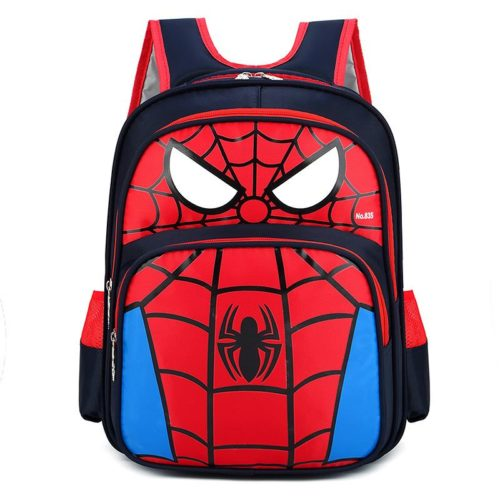JTF210934-spidermanred Tas Ransel Anak Sekolah Karakter Import