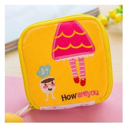JTF2146 IDR.16.000  MATERIAL PLUSH SIZE L11XH11XW4.5CM WEIGHT 100GR COLOR YELLOW