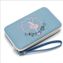JTF2311-blue Dompet Fashion Modis Cantik