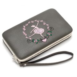 JTF2311-gray Dompet Fashion Modis Cantik