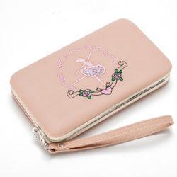 JTF2311-pink Dompet Fashion Modis Cantik