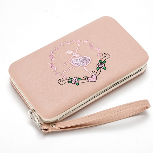 JTF2311 IDR.45.000 MATERIAL PU SIZE L17XH10XW3CM WEIGHT 250GR COLOR PINK