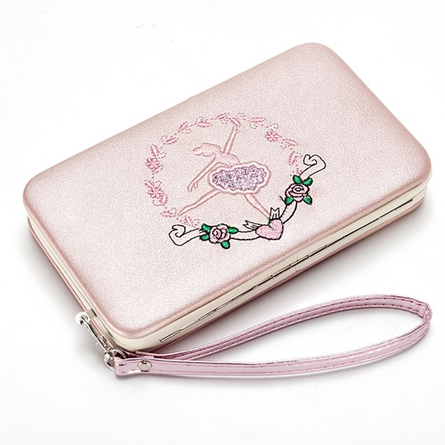 JTF2311 IDR.45.000 MATERIAL PU SIZE L17XH10XW3CM WEIGHT 250GR COLOR PINKGOLD