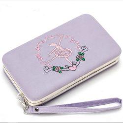 JTF2311-purple Dompet Fashion Modis Cantik