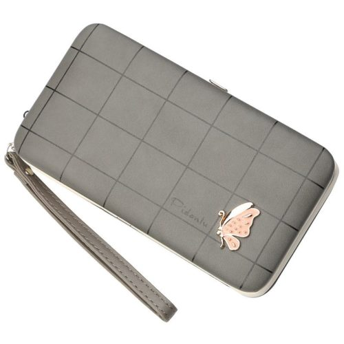 JTF2313-gray Dompet Panjang Wanita PIDANLU