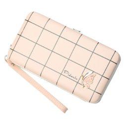 JTF2313-pink Dompet Panjang Wanita PIDANLU