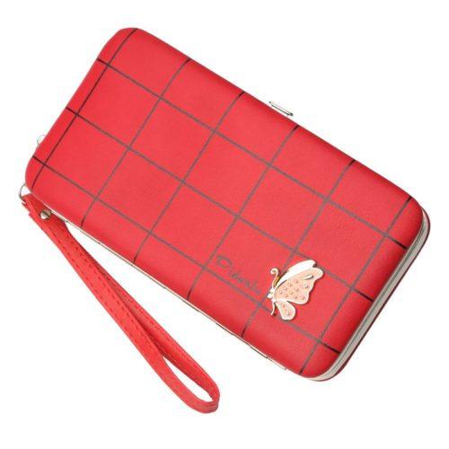 JTF2313-red Dompet Panjang Wanita PIDANLU