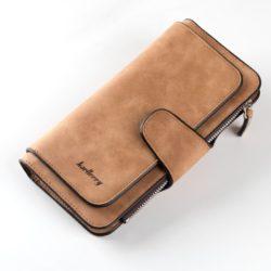 JTF2345-brown Dompet Panjang Baellery Cantik Import