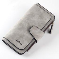 JTF2345-gray Dompet Panjang Baellery Cantik Import