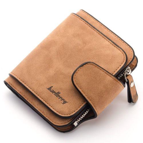JTF2346-brown Dompet Kartu Baellery Cantik Import