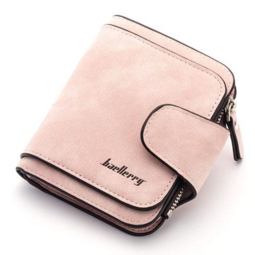 JTF2346-lightpink Dompet Kartu Baellery Cantik Import