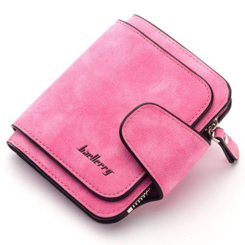 JTF2346-rose Dompet Kartu Baellery Cantik Import