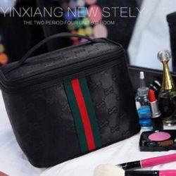 JTF2353-black Tas Kosmetik Import Import Wanita Cantik