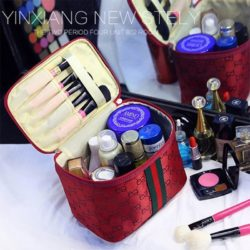 JTF2353-red Tas Kosmetik Import Import Wanita Cantik