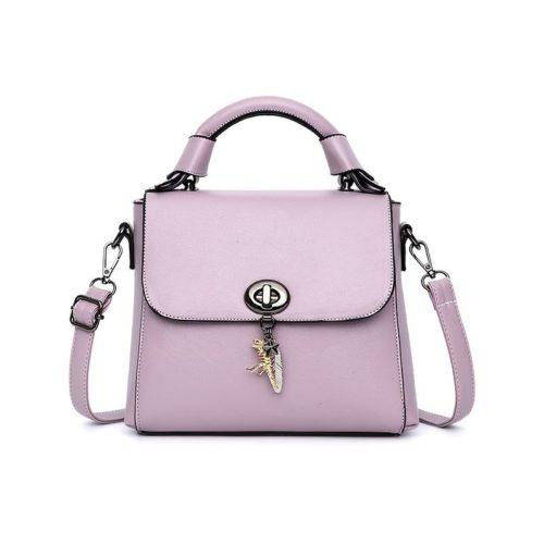JTF2401-lightpurple Tas Selempang Handbag Import Wanita Terbaru