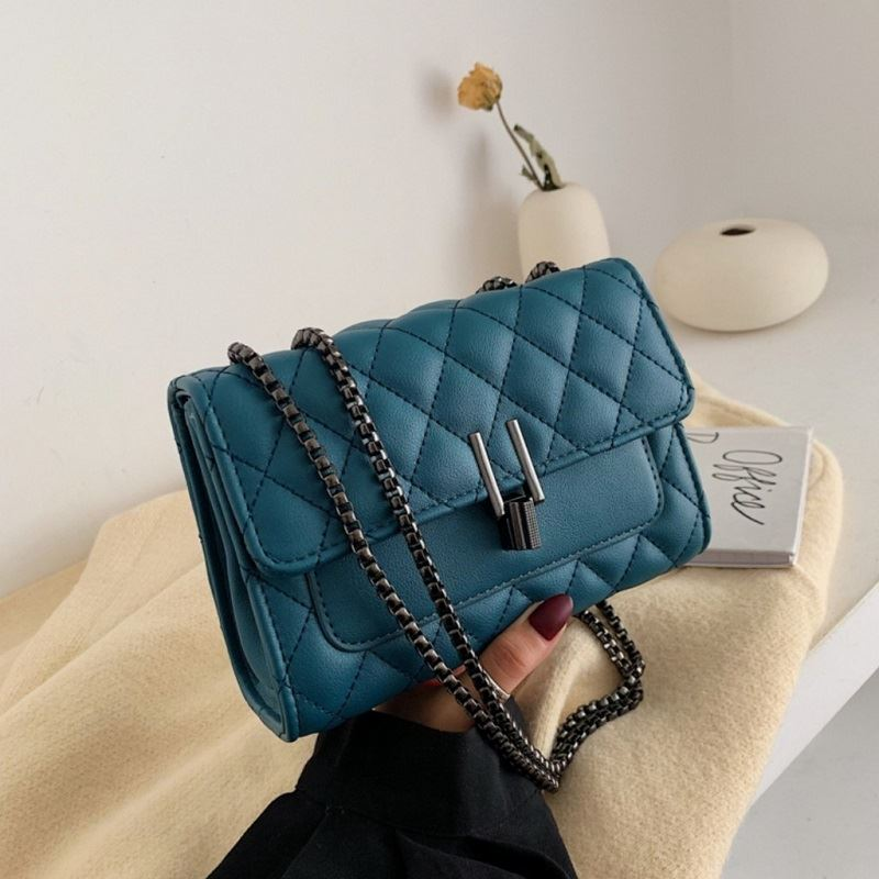 JTF2644-blue Tas Clutch Selempang Wanita Import Terbaru