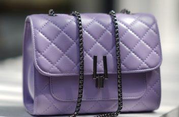 JTF2644-purple Tas Clutch Selempang Wanita Import Terbaru