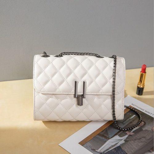 JTF2644-white Tas Clutch Selempang Wanita Import Terbaru