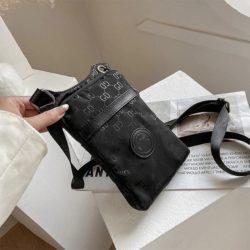 JTF31329-black Tas Sling Handphone GD Stylish Import Wanita Cantik