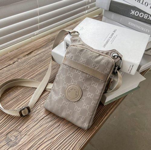 JTF31329-gray Tas Sling Handphone GD Stylish Import Wanita Cantik