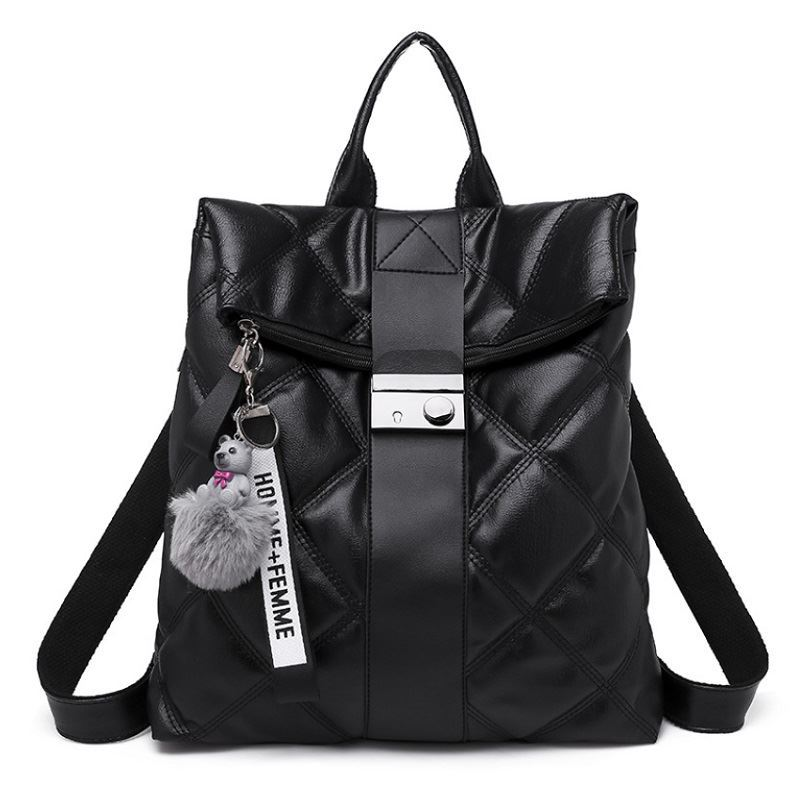 JTF313468 IDR.80.000 MATERIAL PU SIZE L30XH29XW13CM WEIGHT 650GR COLOR BLACK