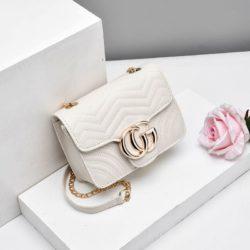 JTF33235-white Tas Selempang Clutch Wanita Cantik Terbaru