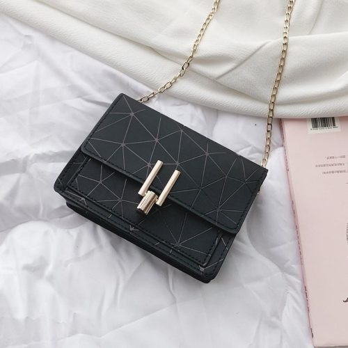 JTF3368-black Sling Bag Modis Tali Rantai Terbaru