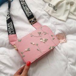 JTF3372-pink Tas Selempang Fashion Modis Kekinian