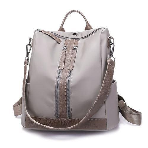 JTF3435-gray Tas Ransel Fashion Import Wanita Cantik
