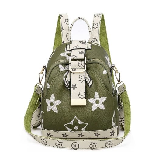 JTF34449-green Tas Ransel Fashion Stylish Wanita Cantik Terbaru